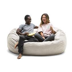 Big Joe 0000659 XL Fuf Foam Filled Bean Bag Chair, Extra Lar