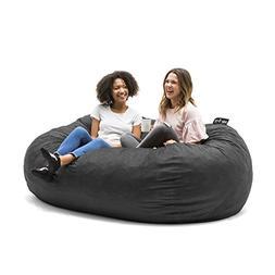 Astonishing Big Joe 0001655 Fuf Foam Filled Bean Bag Beatyapartments Chair Design Images Beatyapartmentscom