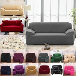 1 2 3 4 Seater Stretch Chair Sofa Covers Couch Cover Elastic