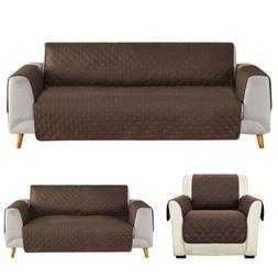 1 2 3 Seater Sofa Cover Chair Couch Loveseat Slipcover Pet D