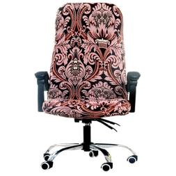 1 Set Rotate Office Executive Chair Slipcover Stretchy Seat