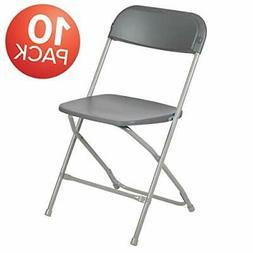 Flash Furniture 10 Pk. HERCULES Series 650 lb. Capacity Prem