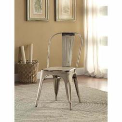 Coaster 105615 Home Furnishings Metal Chair , White
