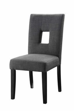 Coaster Home Furnishings 106656 Side Chair Grey/Cappuccino P
