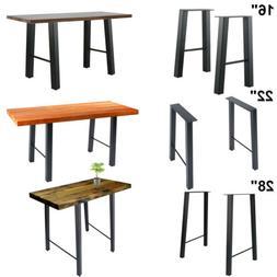 "16"" 22'' 28"" Industry Table Leg Metal Steel Chair Bench Legs"