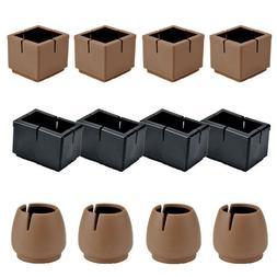 16x US Silicone Chair Legs Cap Pad Furniture Table Feet Wood
