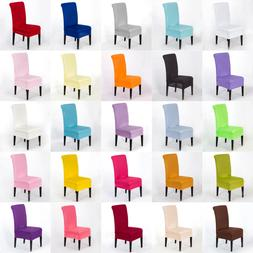 1x Spandex Lycra Fabric Stretch Chair Covers Wedding Decor S