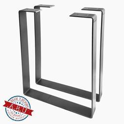 2 Pack - U Shape Metal Leg, River Bench, Coffee Table, Chair