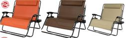 2-Person Double Wide Folding Zero Gravity Chair Best Choice