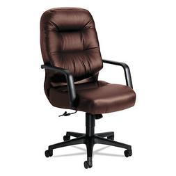 HON 2090 Pillow-Soft Series Executive Leather High-Back Swiv