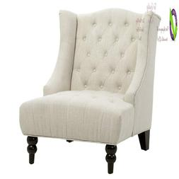 Christopher Knight Home 295398 Clarice Accent Chair, Bei