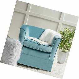 Christopher Knight Home 298870 Cecilia Arm Chair, Blue