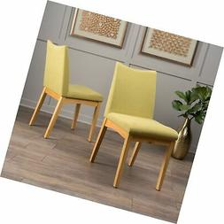Christopher Knight Home 300023 Dimitri Fabric Dining Chairs