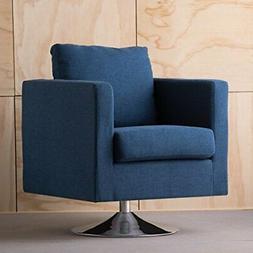 Christopher Knight Home 300584 Holden Modern Fabric Swivel C