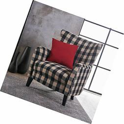 Christopher Knight Home 301061 Arador Fabric Club Chair, Bla