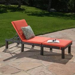 Great Deal Furniture 303866 Joyce Outdoor Multibrown Wicker