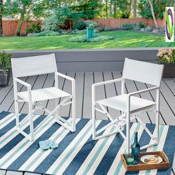 Great Deal Furniture 304603 Teresa | Outdoor Mesh And Alumin