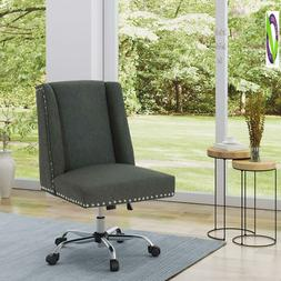 Christopher Knight Home 304854 Quentin Desk Chair, Dark Grey