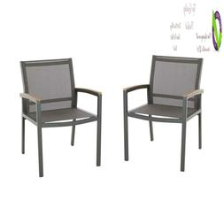 Great Deal Furniture 305223 Emma Outdoor Mesh And Aluminum F