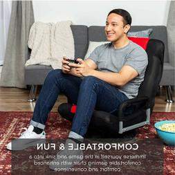 Best Choice Products 360-Degree Swivel Gaming Floor Chair w/