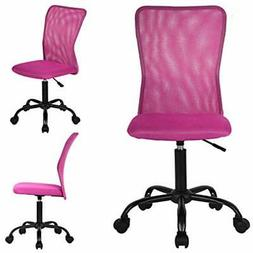 """3PC Pink Mesh Office Chair Kitchen """" Dining"""