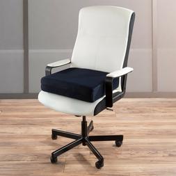 4 Inch Thick Foam Support Cushion Office Desk Chair Wheel Ch