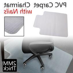 48*36 Desk Chair Mat Carpet Rug Protector PVC Plastic Thickn