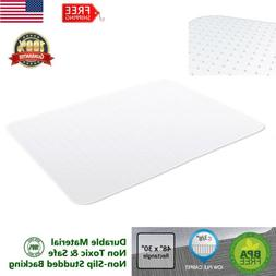 """48""""x30"""" HEAVY-DUTY Office Chair Mat For Low Pile Carpet Prot"""
