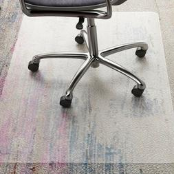 """48""""x36"""" HEAVY-DUTY Office Chair Mat For Low Pile Carpet Prot"""