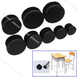 4PCS Round Plastic Chair Leg Glide Cap Plug Tubing Pipe Inse