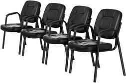 4pcs Waiting Room Reception Chair Office Guest Chair Confere