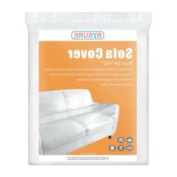 "5 Mil Heavy Duty Clear Plastic Sofa Cover 94""x42"" For  Furni"