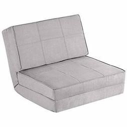 5-Position Adjustable Convertible Flip Chair, Sleeper Dorm G