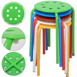 5 Stackable Plastic Stool Kids Children Stools for Classroom