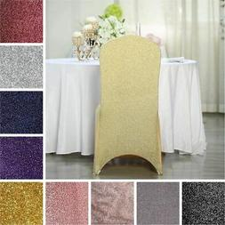 75 Metallic SPANDEX High Quality Stretchable CHAIR COVERS We