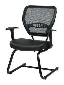 """OFFICE STAR 5705E Side Chair,Fabric,Gray,19 to 19"""" Seat Ht"""
