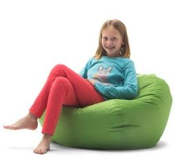 "98"" Big Joe Round Bean Bag Chair kids bag chair Tough, stain"