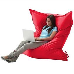 Big Joe Original Bean Bag Chair, Flaming Red