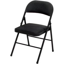 Cosco Fabric Folding Chair Black