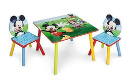 Delta Children Kids Chair Set and Table , Disney Mickey Mous