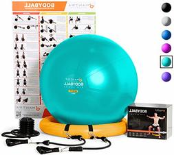 Exercise Ball Chair - 65cm & 75cm Yoga Fitness Pilates Ball