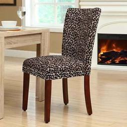 HomePop Parsons Upholstered Accent Dining Chair, Set of 2, L