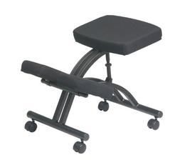Office Star Ergonomically Designed Knee Chair with Casters,