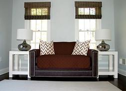 Sofa Shield Original Patent Pending Reversible Sofa Slipcove