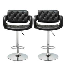 Adjustable Modern Swivel Bar Stools Dining Chair Counter Hei