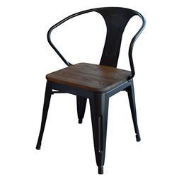 AmeriHome Arm Chair , Black