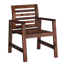 IKEA APPLARO Outdoor Brown Foldable Brown Armchair, 202.085.