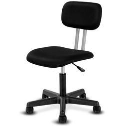 Giantex Armless Mid-back Mesh Office Chair Swivel Height Adj
