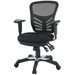 Modway Articulate Ergonomic Mesh Office Chair in Black