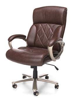 OFM Avenger Series Big and Tall Leather Executive Chair - Br